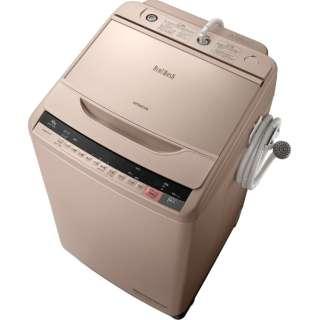 BW-V100A-N 全自動洗濯機 ビートウォッシュ シャンパン [洗濯10.0kg /乾燥機能無 /上開き]