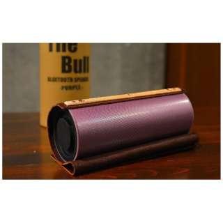 3E-BSP1-PU ブルートゥース スピーカー The Bull パープル [Bluetooth対応]