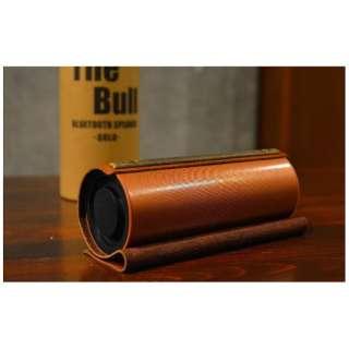 3E-BSP1-GL ブルートゥース スピーカー The Bull ゴールド [Bluetooth対応]