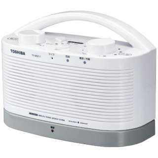 テレビ用スピーカー TY-WSD11 ホワイト [防水]