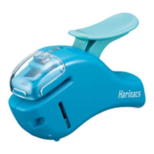 [ステープラー] 針なしステープラー ハリナックス (コンパクトアルファ) 青 SLN-MSH305B