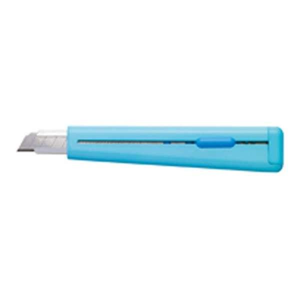 [カッターナイフ] カッターナイフ 標準型・フッ素加工刃 青 HA-S110B