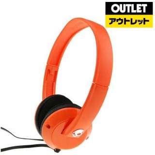 【アウトレット品】 ヘッドホン [φ3.5mm ミニプラグ] SGURFZ086 オレンジ 【生産完了品】