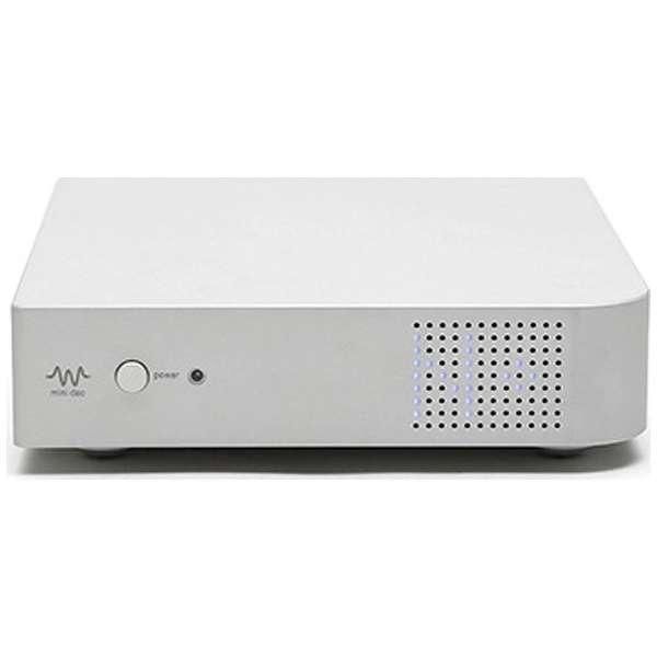 【ハイレゾ音源対応】ネットワーク対応 WMiniシリーズ DAコンバーター (シルバー) WMiniDAC-S