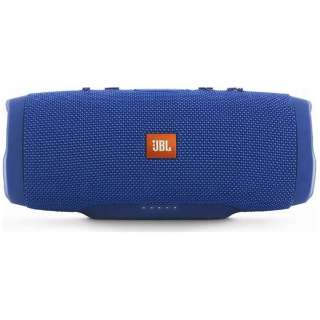 JBL CHARGE 3 BLUE JN ブルートゥース スピーカー ブルー [Bluetooth対応 /防水]