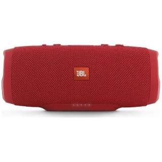 JBL CHARGE 3 RED JN ブルートゥース スピーカー レッド [Bluetooth対応 /防水]