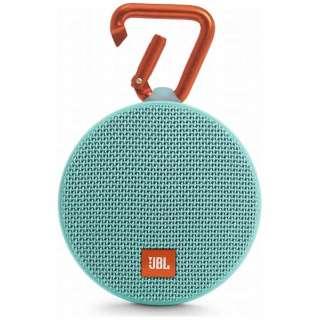 JBL CLIP 2 TEAL ブルートゥース スピーカー ティール [Bluetooth対応 /防水]