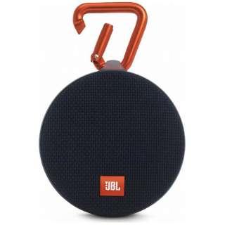 JBL CLIP 2 BLK ブルートゥース スピーカー ブラック [Bluetooth対応 /防水]