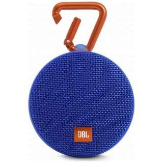 JBL CLIP 2 BLUE ブルートゥース スピーカー ブルー [Bluetooth対応 /防水]