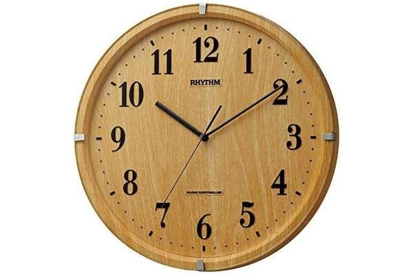 掛け時計のおすすめ21選 リズム時計「ライブリーアリス」8MY501SR07