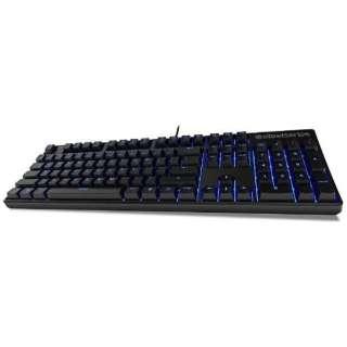 64490 ゲーミングキーボード APEX M500 [USB /有線]