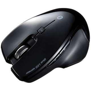 ワイヤレスBlueLEDマウス[Bluetooth3.0・Android/Mac/Win] (5ボタン・ブラック) MA-SBT1BK