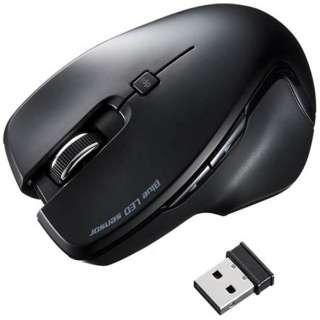 MA-SW1BK マウス ブラック [BlueLED /5ボタン /USB /無線(ワイヤレス)]