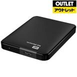 【アウトレット品】 WDBU6Y0020BBK-EESN 外付けHDD ブラック [ポータブル型 /2TB] 【生産完了品】