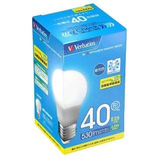 LDA5D-G/VP5 LED電球 バーベイタム(Verbatim) [E26 /昼光色 /1個 /40W相当 /一般電球形 /広配光タイプ]