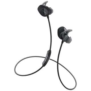 bluetooth イヤホン カナル型 SoundSport wireless headphone ブラック SSport WLSS BLK [リモコン・マイク対応 /ワイヤレス(左右コード) /Bluetooth]