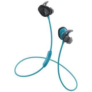 bluetooth イヤホン カナル型 SoundSport wireless headphone アクアブルー SSport WLSS AQA [マイク対応 /ワイヤレス(左右コード) /Bluetooth]