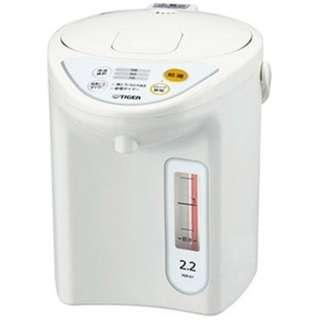 PDR-G221 電気ポット ホワイト [2.2L]