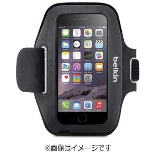 iPhone 6s/6用 Sport-Fit アームバンド ブラック F8W619btC00 JP