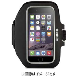 iPhone 6s/6用 Sport-Fit Plus アームバンド ブラック F8W620btC00 JP
