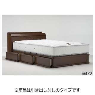 【フレームのみ】収納なし ライフトリートメント LT-122C-SC[スノコ床板](セミダブルサイズ/ESウォールナット2)【日本製】 フランスベッド