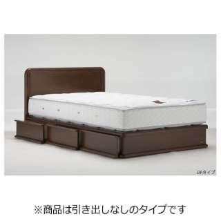 【フレームのみ】収納なし ライフトリートメント LT-120F-SC[スノコ床板](セミダブルサイズ/ペールアンバー)【日本製】 フランスベッド