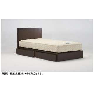 【フレームのみ】収納なし ネクストランディ 901F-LG[レッグ/スノコ床板](シングルサイズ/ネクストウォールナット)【日本製】 フランスベッド 【受注生産につきキャンセル・返品不可】