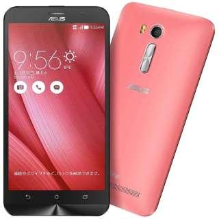 ZenFone GO Seriesピンク「ZB551KL-PK16」 Snapdragon 400 5.5型・メモリ/ストレージ:2GB/16GB microSIMx2 ドコモ/au/Ymobile SIM対応 SIMフリースマートフォン