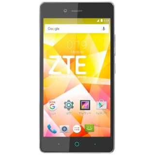 ZTE Blade E01 ブラック 「BLADEE01BLACK」 Android 5.1・5.0型・メモリ/ストレージ:1GB/8GB NanoSIMx2 SIMフリースマートフォン