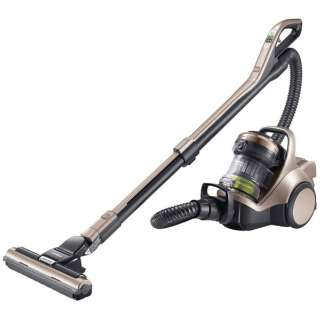 【自走式ブラシ搭載】 サイクロン式掃除機 「パワーブーストサイクロン」 CV-SD900-N シャンパンゴールド