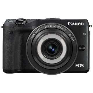 EOS M3 ミラーレス一眼カメラ クリエイティブマクロ レンズキット ブラック [単焦点レンズ]