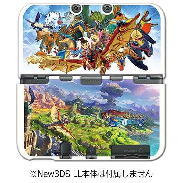 モンスターハンター ストーリーズ カバー for Newニンテンドー3DS LL【New3DS LL】