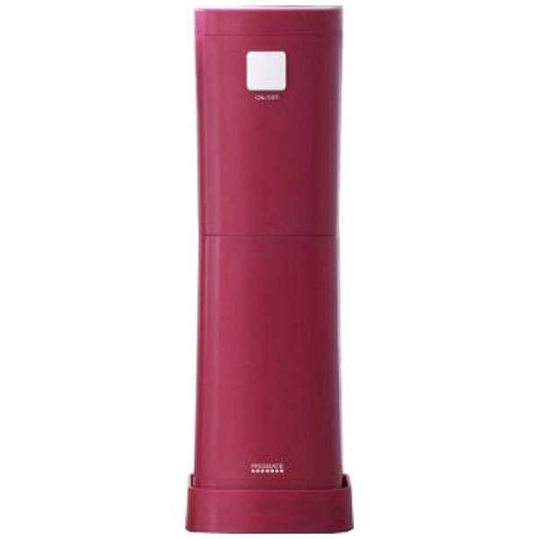 電動かき氷器 「アイスブロック」 PR-SK003-WR ワインレッド