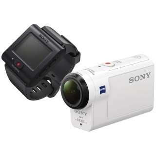 HDR-AS300R アクションカメラ ライブビューリモコンキット [フルハイビジョン対応 /防水+防塵+耐衝撃 /光学式(空間光学方式、アクティブモード搭載)]