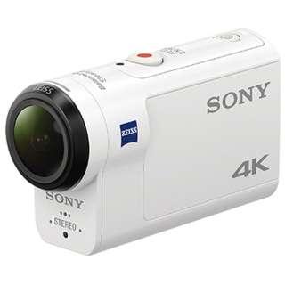 FDR-X3000 アクションカメラ [4K対応 /防水+防塵+耐衝撃 /光学式(空間光学方式、アクティブモード搭載)]