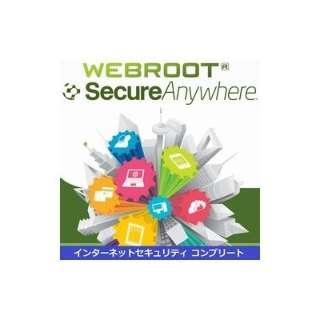 SecureAnywhere インターネットセキュリティコンプリート3台1年版【ダウンロード版】