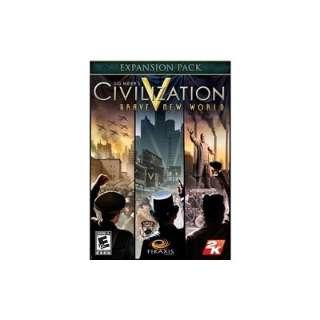 [2K Games] Sid Meiers Civilization(R) V Brave New World 日本語【ダウンロード版】