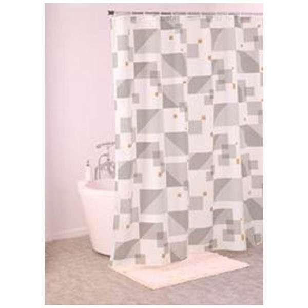 シャワーカーテン インフィ(130×180cm/グレー)