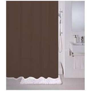 シャワーカーテン 無地(130×180cm/ブラウン)