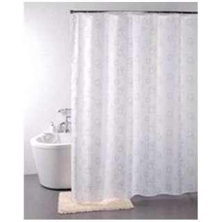 シャワーカーテン スクエア(130×180cm/ホワイト)
