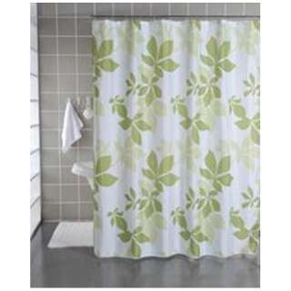 シャワーカーテン リーフ(130×150cm/グリーン)