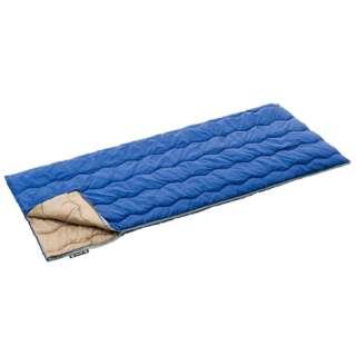 封筒型シェラフ ROSY 丸洗い寝袋・15(ブルー)72600600【サイズ:75×185cm/適合胸囲:96cmまで/適正温度目安:15度まで】