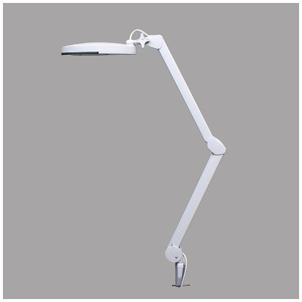 サンコー 56LED付 フレキシブルアームルーペ ホワイト FLLP563D
