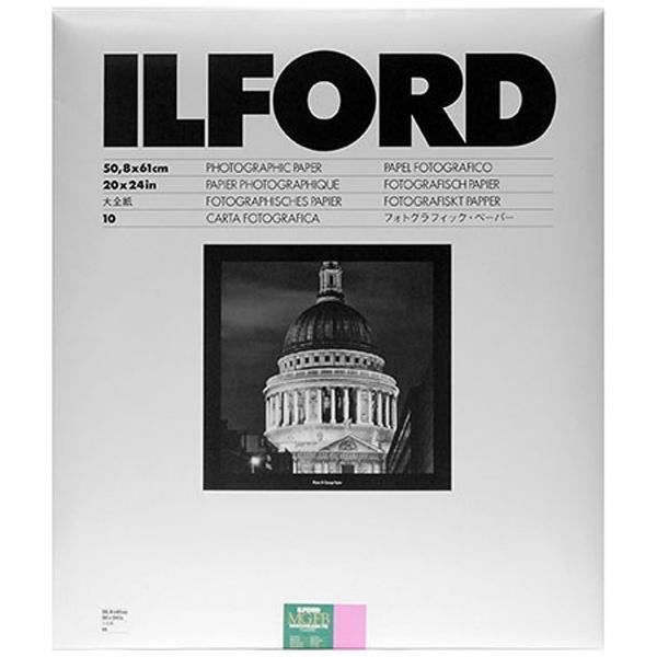 イルフォード マルチグレードFBクラシック 1K Glossy光沢 大全紙20×24インチ 10枚入 MGFB 1K 20X24 10
