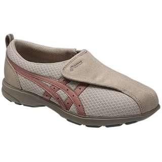 【ケアシューズ】ライフウォーカー307(W)(21.5cm/ウォームグレー×グレイッシュピンク)《両足》