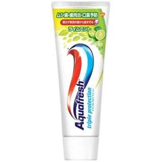 アクアフレッシュ(Aquafresh) 歯磨き粉 ライムミント 140g