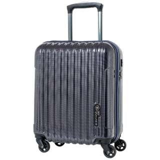 スーツケース コインロッカー対応キャリー 25L Navy Carbon SK-0722-41-NVC [TSAロック搭載]