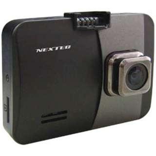 ドライブレコーダー NEXTEC ブラック NX-DR200SE [一体型 /Full HD(200万画素)]