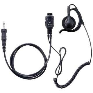小型タイピンマイク&イヤホン(耳掛け式オープンエアー型)カールコード SSM59CCA