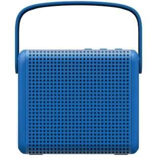 BTS1000BE ブルートゥース スピーカー BOOMAX ブルー [Bluetooth対応]